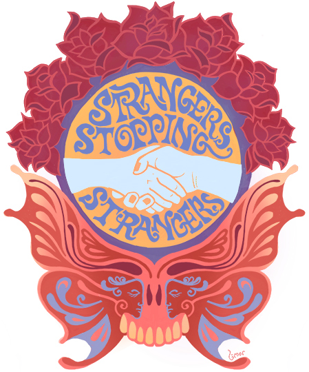 Welcome Strangers Stopping Strangers
